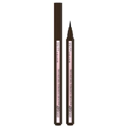 3x Maybelline Eyeliner Hyper Easy Liner Bruine Liquid 810 Pitch Brown