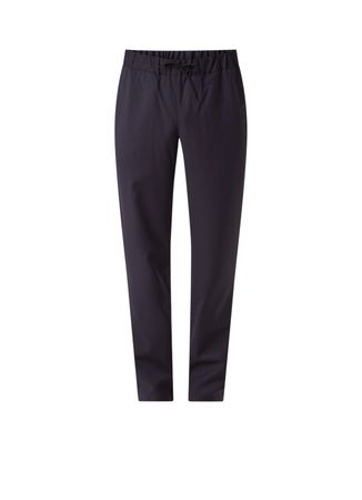 A-P-C- Kaplan tapered fit pantalon met drawstring
