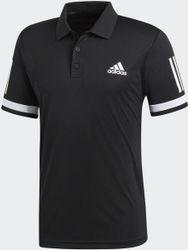 adida Club 3 tripe Polo Tenni Polo Heren - Black/White