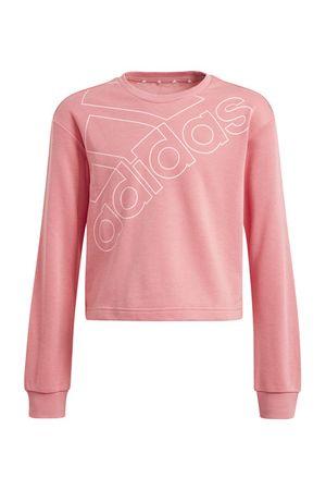 Adidas Essentials Logo Sweatshirt Pink