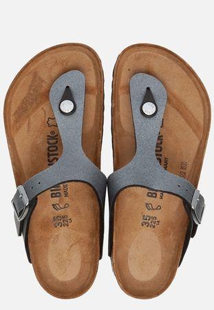 Birkenstock Gizeh slippers grijs