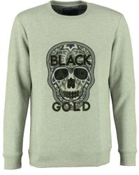 Black And Gold Sweater CRANEO ORIGINAL