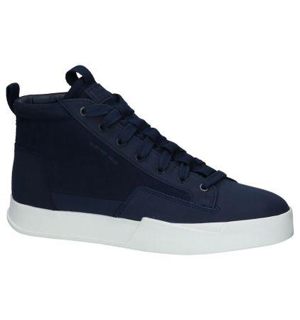 Blauwe Hoge Sneakers G-Star Rackam