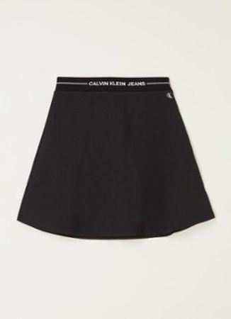Calvin Klein Intarsia rok met logoband