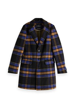 Classic Coat In Bonded Quality Combo C