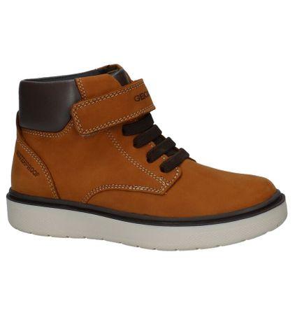 Cognac Boots Geox Waterproof