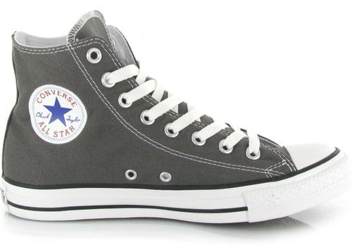 Converse Chuck Taylor All Star Sneakers Hoog Unisex - Charcoal