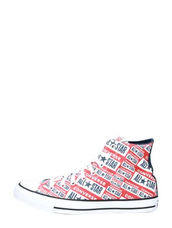 Converse Heren Chuck Taylor All Star Hi rood Rood