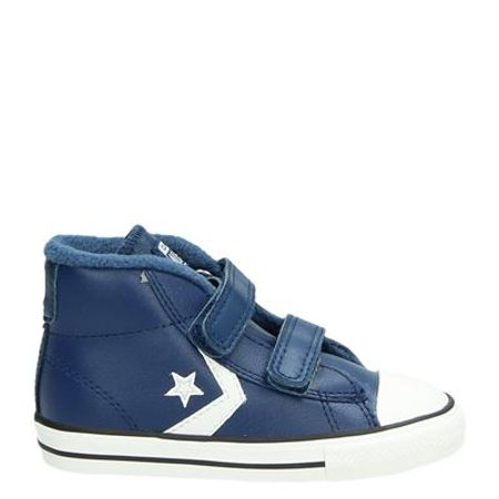 Converse Starplayer klittenbandschoenen blauw