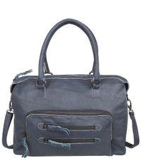 Cowboysbag-Handtassen-Bag Walsall-Blauw