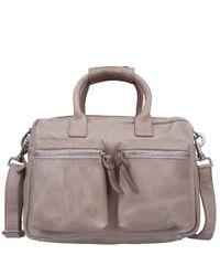 Cowboysbag-Handtassen-The Little Bag-Grijs
