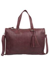 Cowboysbag-Laptoptassen-Bag Hatfield-Rood