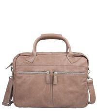 Cowboysbag Laptoptassen Laptop Bag Cromer 15.6 inch Grijs