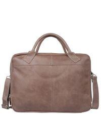 Cowboysbag Laptoptassen Laptop Bag Sterling 15.6 inch Grijs