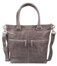 Cowboysbag Schoudertassen Bag Brackley Grijs