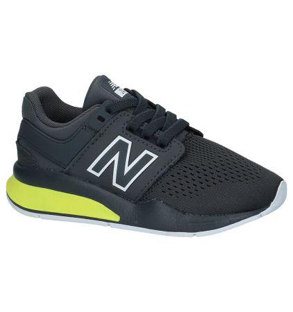 Donkergrijze Lage Sportieve Sneakers New Balance KA 247
