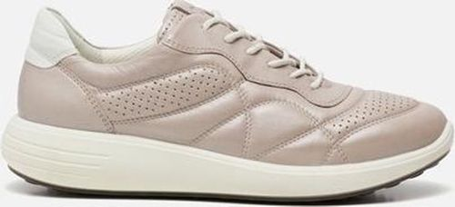 ECCO Soft 7 Runner Dames Sneakers - Champagne