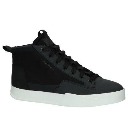 G-Star Rackam Core Mid Zwarte Hoge Sneakers