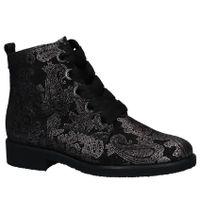 Gabor Comfort Boots met Rits/Veter Zwart