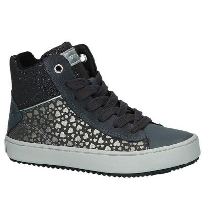 Grijze Geox Sneakers met Hartjes