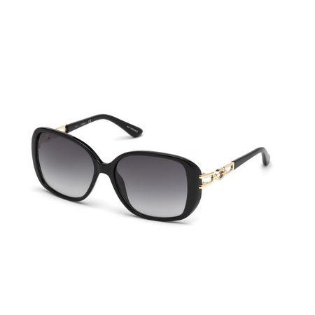 GUESS Black Zonnebril GU7563-59-05B