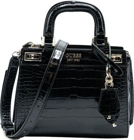 Guess Katey Mini Satchel Handtassen - Zwart