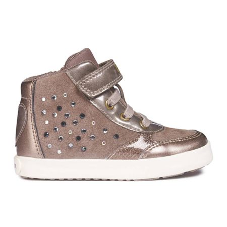 Hoge sneakers in leer B Kilwi Girl