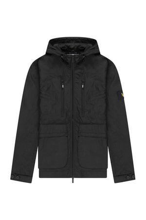 Hooded Jacket Jet Black