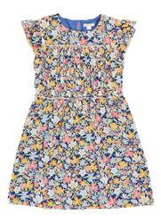 J.Crew A-lijn jurk met bloemdessin