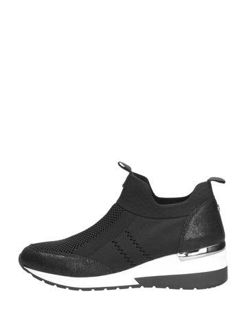 La Strada Dames Sock sneakers zwart Zwart
