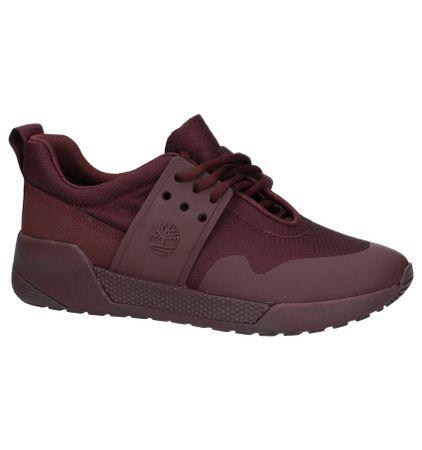 Lage Geklede Sneakers Bordeaux Timberland Kiri Up Knit