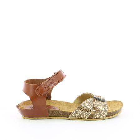 Leren sandalen Bobbun