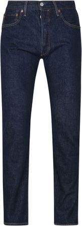 Levi's 501 Broek Regular Fit Donkerblauw - Donkerblauw maat W 32