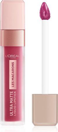 L'Oréal Paris Les Macarons Langhoudende Matte Lipstick - 820 Praline De Paris - Roze - 6,7 ml