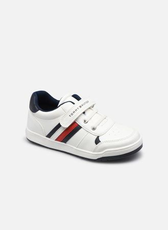 Low Cut Lace-Up/Velcro Sneaker by Tommy Hilfiger