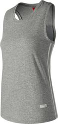 New Balance Athletics Racerback Tank Sporttop Dames - Grey