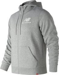 New Balance Essentials Brushed Jacket Sportjas Heren - Grey