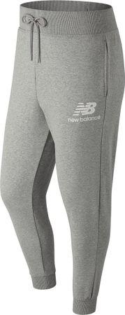 New Balance Essentials Ft Stack Pant Sportbroek Heren - Grey
