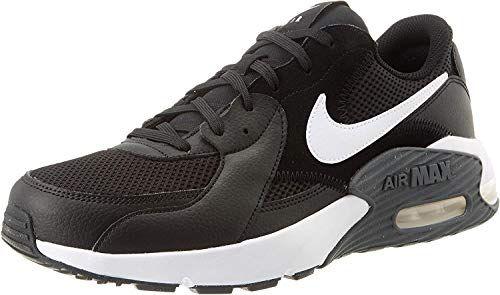 Nike Air Max Excee Sneakers voor heren, Zwart/wit/donkergrijs