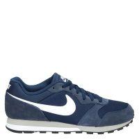 Nike MD Runner 2 lage sneakers blauw