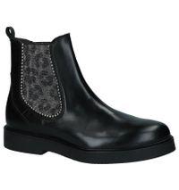 Paola Ferri Zwarte Chelsea Boots
