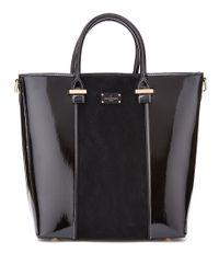 Pauls Boutique-Handtassen-Natasha Half Patent-Zwart