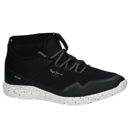 Pepe Jeans Zwarte Slip-on Sneakers