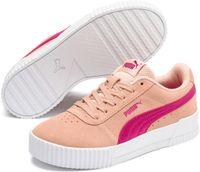 PUMA Carina Jr Sneakers Kinderen - Peach Parfait-Beetroot Purple