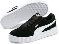 PUMA Carina Sneakers Dames - Puma Black / Puma Black / Puma Silver
