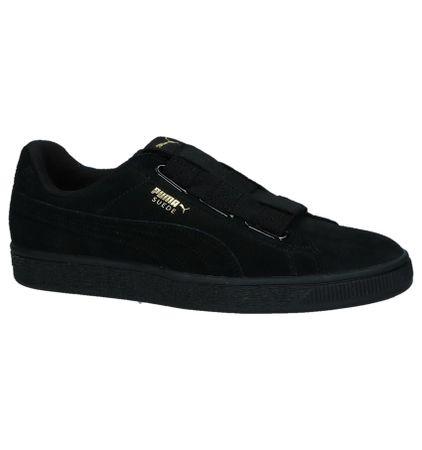Puma Suede Maze Zwarte Sneakers