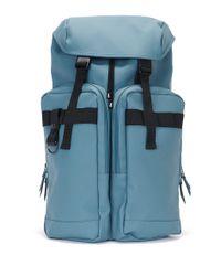 Rains-Reistassen-Utility Bag-Blauw
