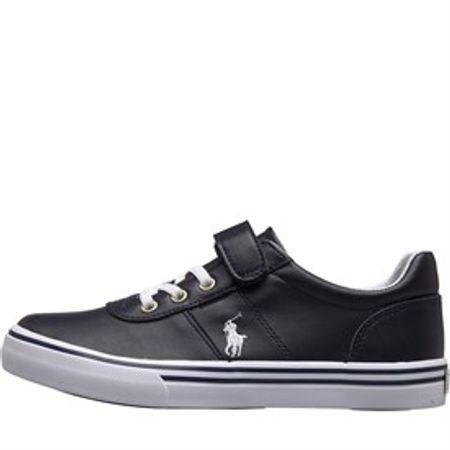 Ralph Lauren Kids Hanford III Sneakers Donker Marineblauw