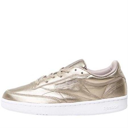 Reebok Classics Dames Club C 85 Melted Metals Sneakers Goud