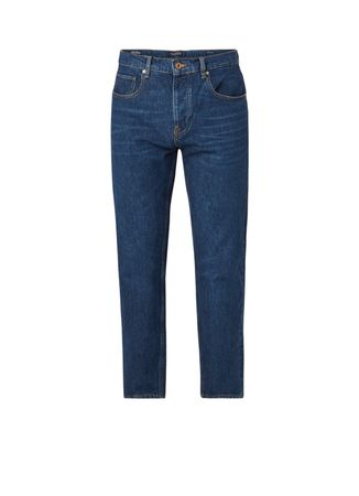 Scotch&Soda The Norm straight fit jeans met medium wassing